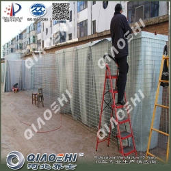 乔士飞机场防御工事可移动防爆墙